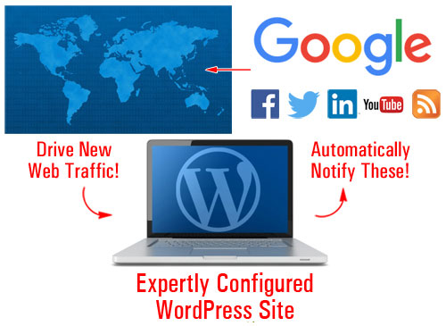 Web Traffic Blueprint Part 1 - How To Automatically Attract More Website Traffic For Your Business With WordPress